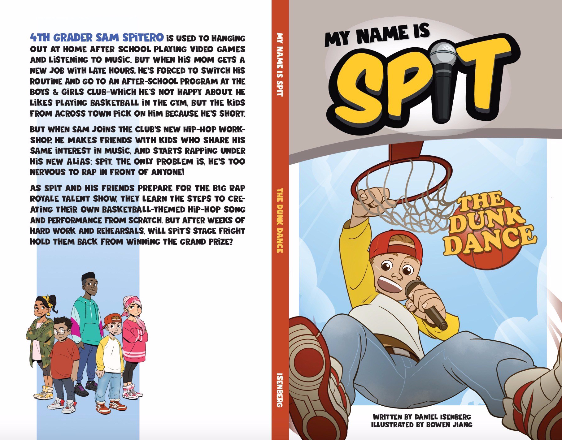 spit cover - front and back